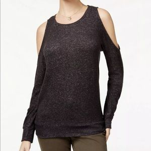 Hippie Rose Cold Shoulder Sweater